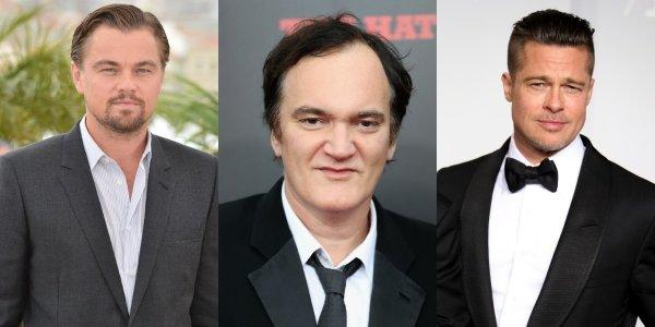 Квентин Тарантино и Леонардо ДиКаприо рассказали о съемках нового фильма