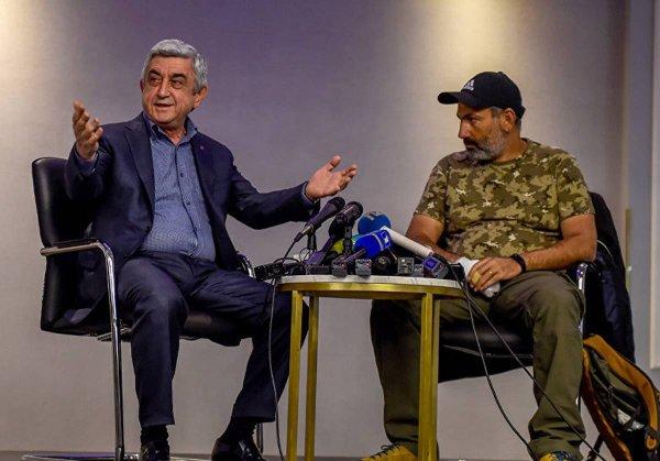 Лидер оппозиционного движения Армении заявил о готовности стать премьером