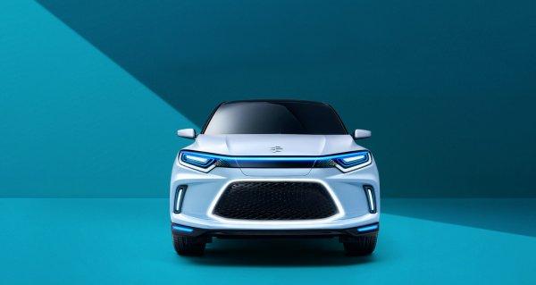 Honda представила концептуальный электрический кроссовер Honda Everus EV для Китая