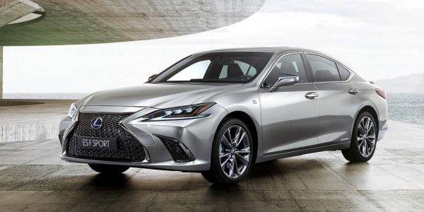 Lexus презентовал в Пекине седан ES нового поколения