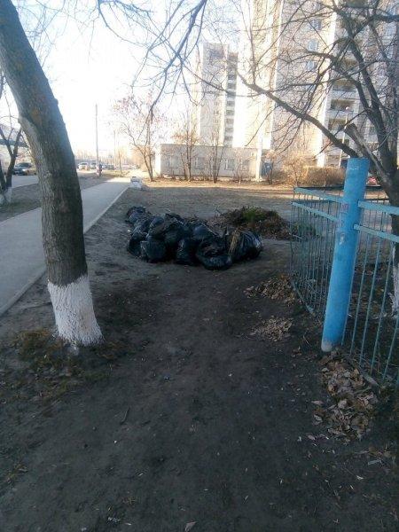 «Мусорный Ульяновск»: очевидец выложил кадры последствия субботника в городе