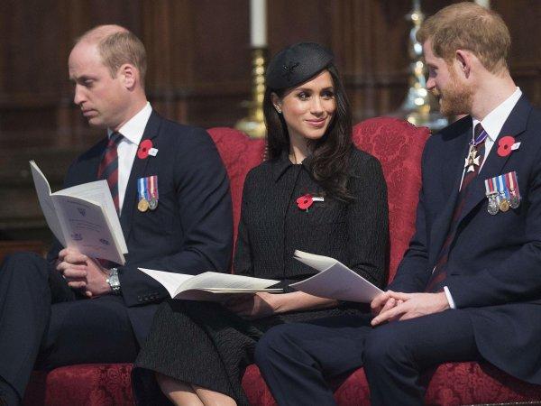 Принц Уильям задремал на церковной службе в Вестминстерском аббатстве