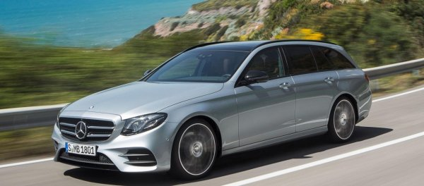 Mercedes-Benz обновил седан и универсал E-Class