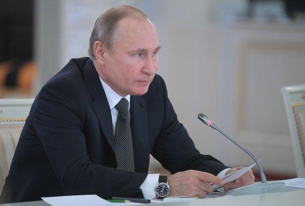 Путин: Расходы на образование в России выросли в 4 раза