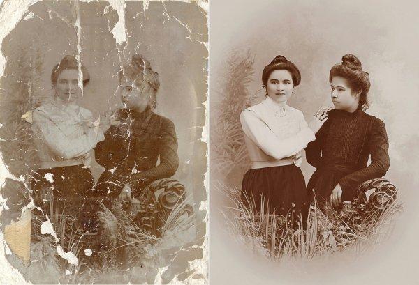 Создан метод восстановления испорченных фотографий