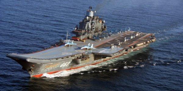 Авианосец «Адмирал Кузнецов» получит на вооружение новые комплексы ПВО