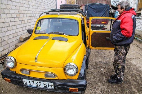 Белорусский пенсионер возрождает ретро-автомобили своими руками