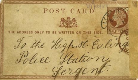 Письмо Джека Потрошителя продали нааукционе за $41 тыс.