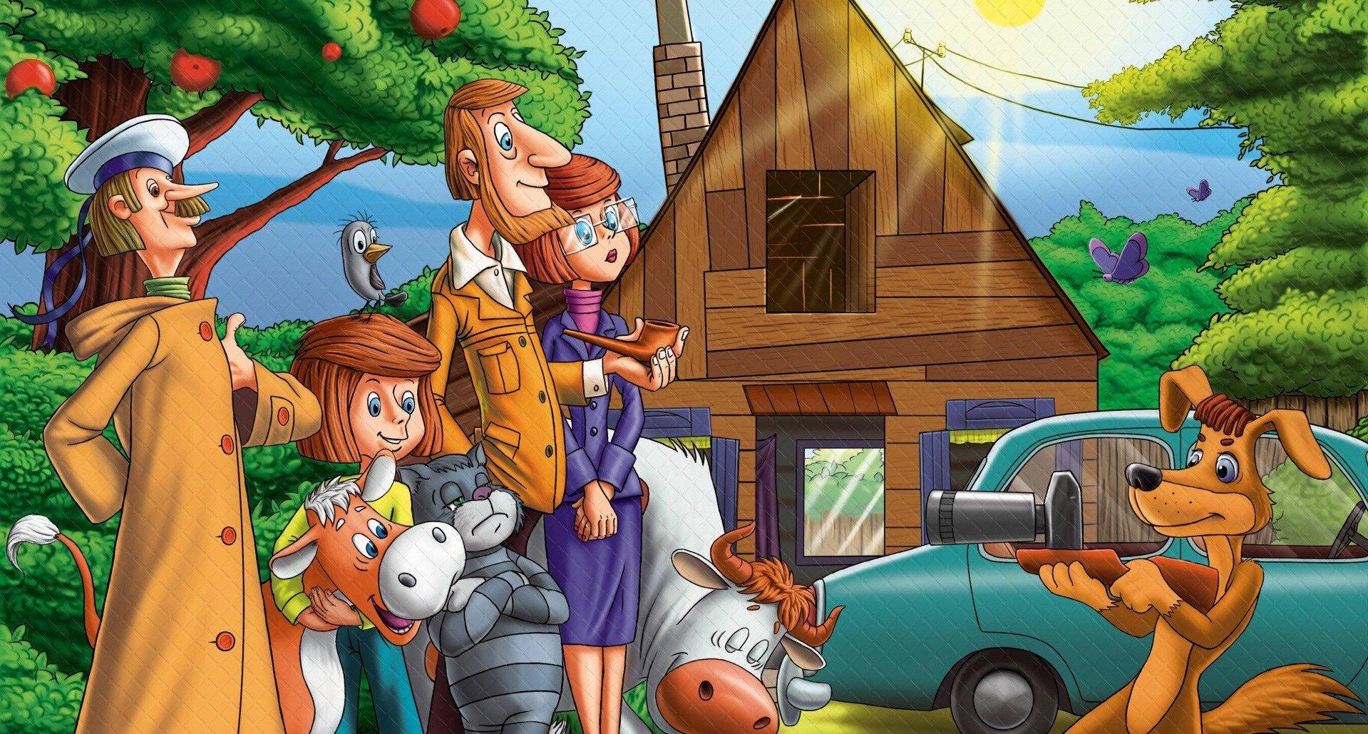 «Союзмультфильм» покажет новейшую серию мультфильма «Простоквашино» 4мая