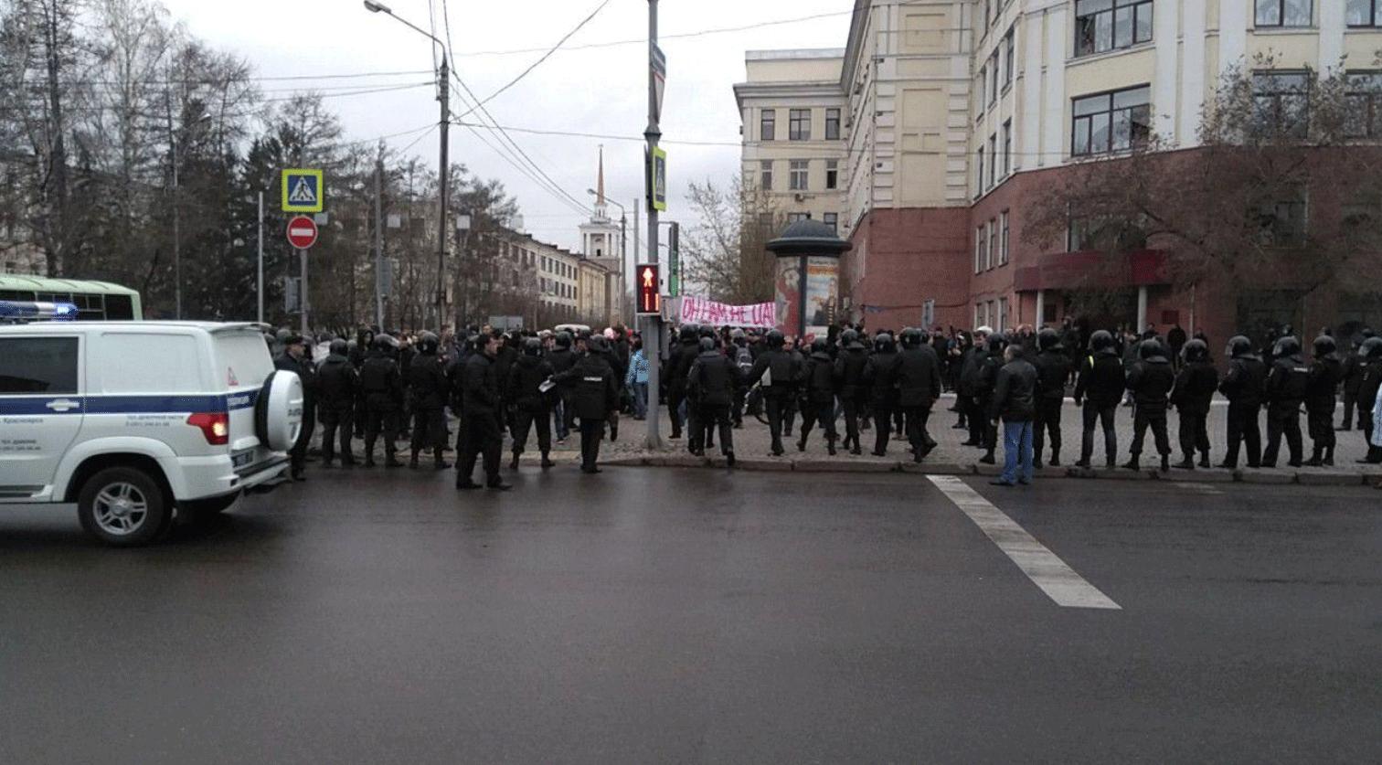 «Оннам нецарь»: в Российской Федерации проходят акции приверженцев Навального