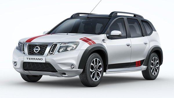 Стартовали продажи особой версии кроссовера Nissan Terrano Sport class=