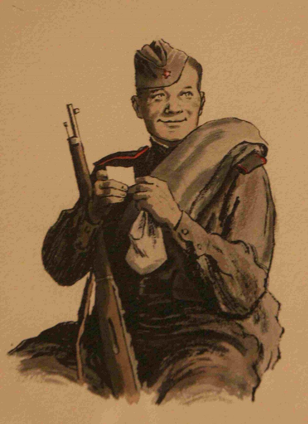 как картинка солдата героя в поэме или навесные потолки