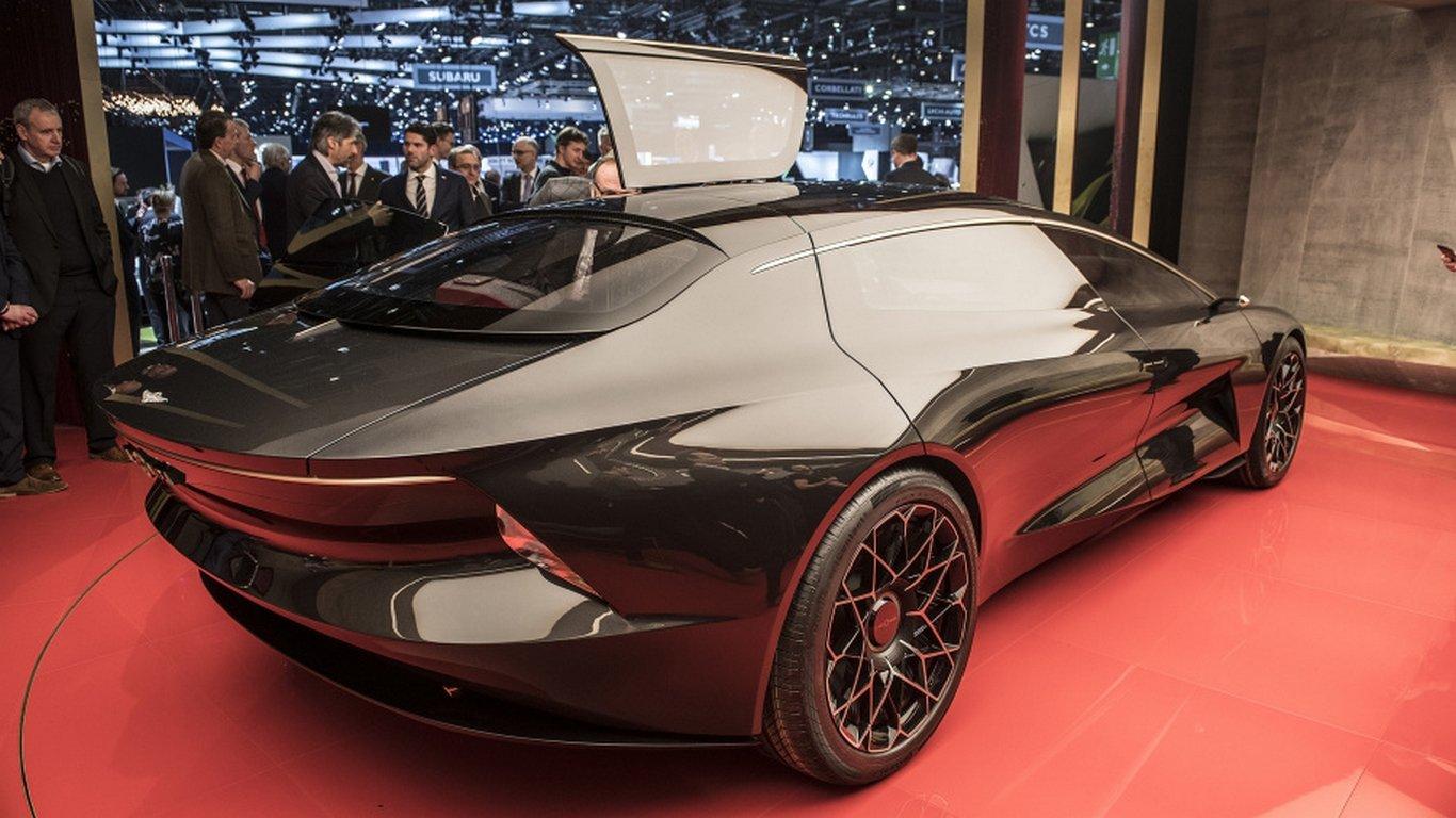 Aston Martin выпустит электрический кроссовер под суббрендом Lagonda class=