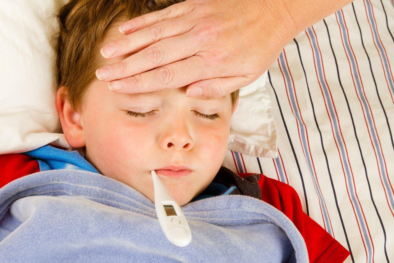 Температурит ребенок картинки