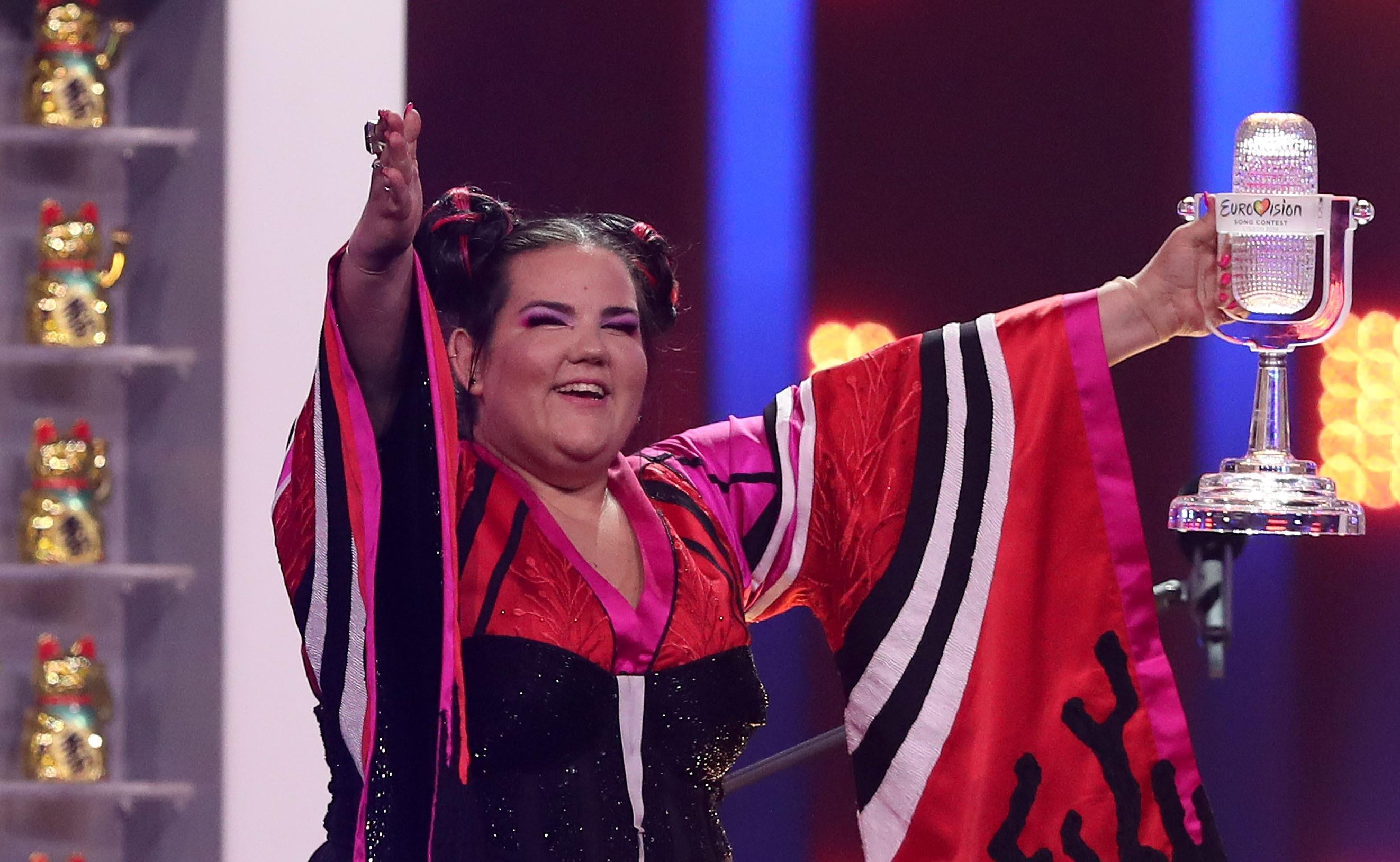 Рудковская пояснила  победу израильской эстрадной певицы