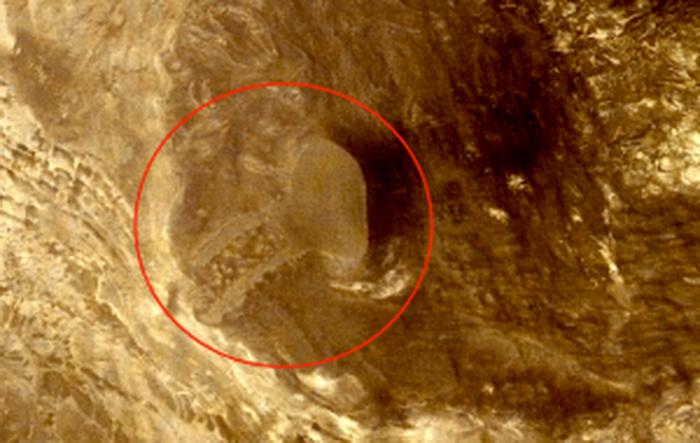 Уфолог нашел наМарсе череп великана