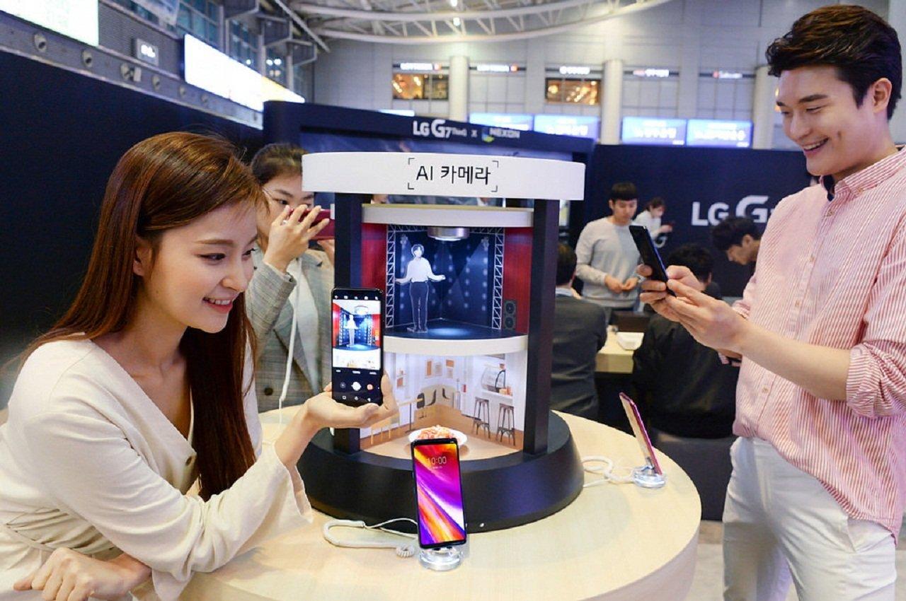 Объявлена русская  цена флагманского телефона  LGG7 ThinQ