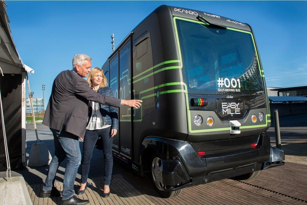 ВНорвегии планируют запустить беспилотные автобусы