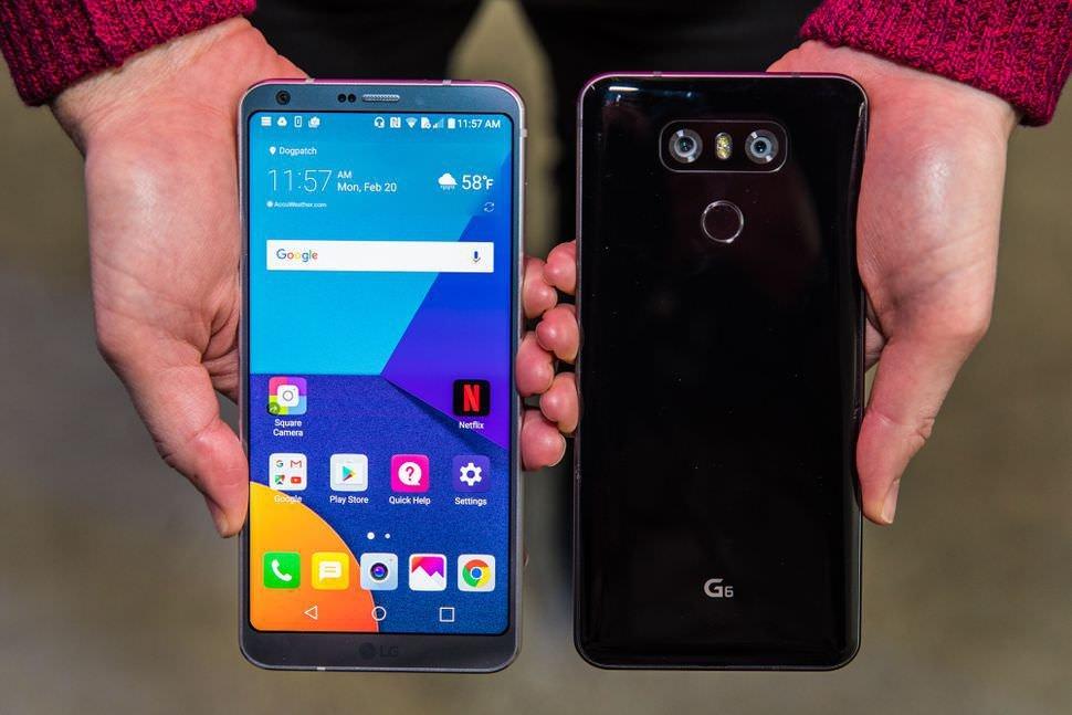 СмартфонLG G6 получил андроид Oreo вевропейских странах