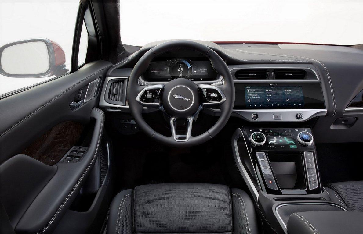 Jaguar подтвердил создание «заряженного» электрокроссовера I-Pace SVR class=
