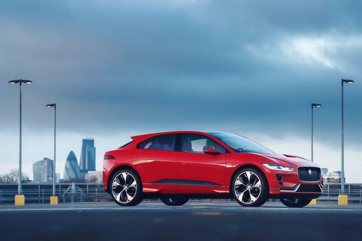 Jaguar подтвердил создание «заряженного» электрокроссовера I-Pace SVR