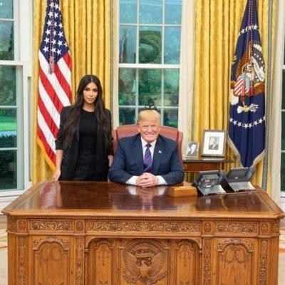 Обнаженные фото сменились снимком из Белого дома: Ким Кардашьян встретилась с Дональдом Трампом