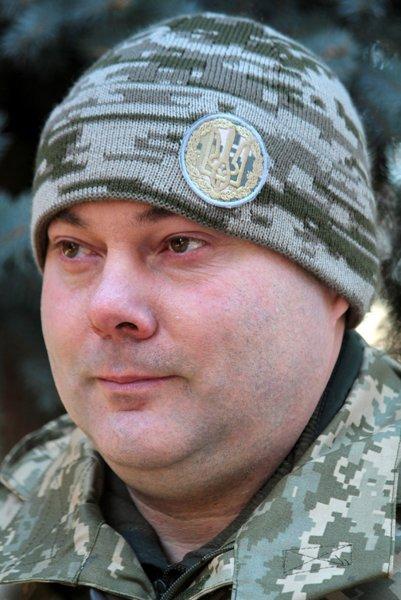 Глава объединенных сил Украины проверил военизированные части на готовность к войне