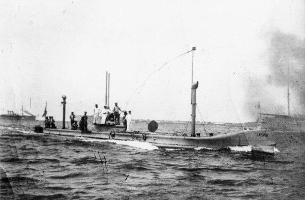 У побережья Севастополя обнаружили затонувшую в 1909 году подлодку «Камбала»