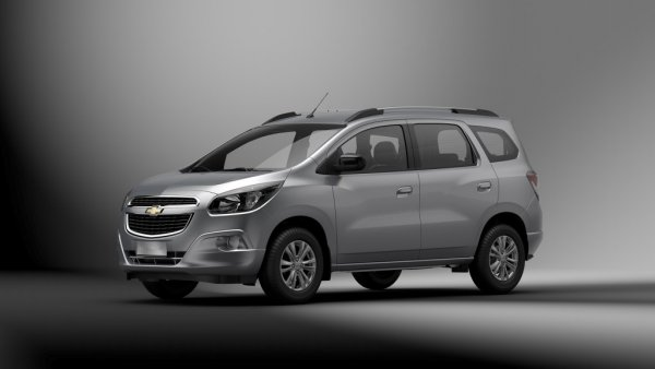 Renovated Minivan Chevrolet Spin Will Be Officially Presented In May