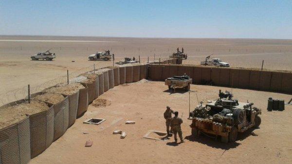 США боятся, что Иран может захватить их военную базу в Сирии
