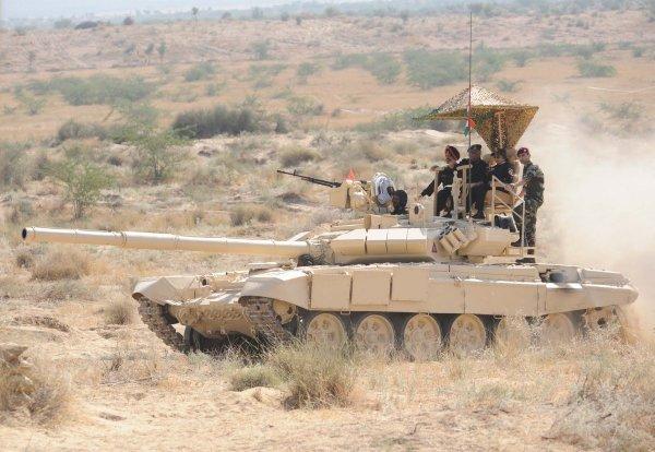 Индия в скором времени создаст беспилотные танки и боевых роботов