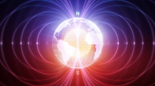 Геолог назвал причину смещения магнитного поля Земли на запад