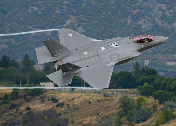Израиль впервые применил в бою истребители F-35