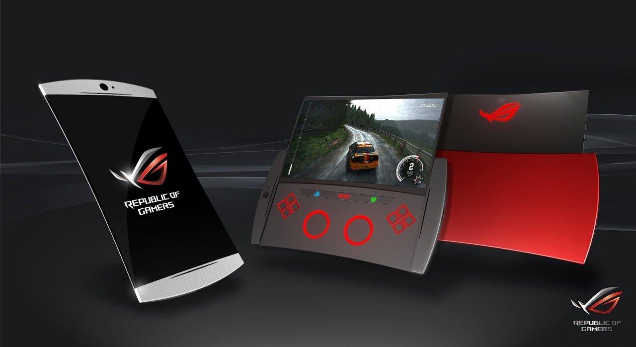 Вглобальной паутине  опубликовали характеристики ифото игрового телефона  ASUS Republic ofGamers