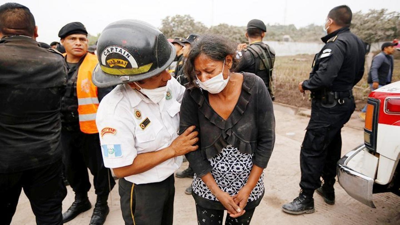 ВГватемале при извержении вулкана погибли десятки людей