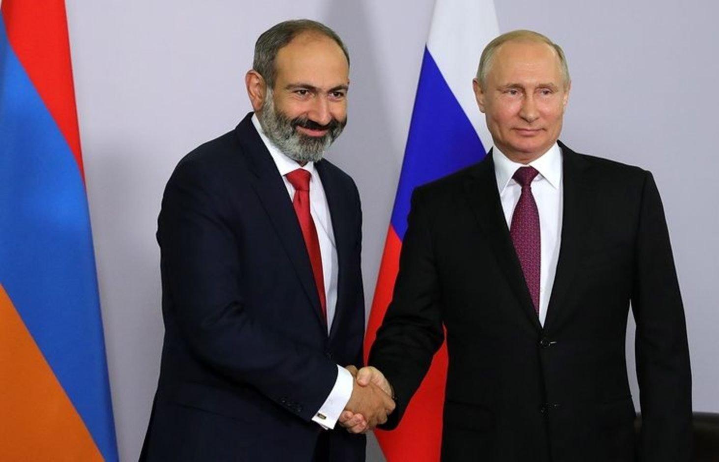 Июня 2018 Песков анонсировал встречу В.Путина  иПашиняна