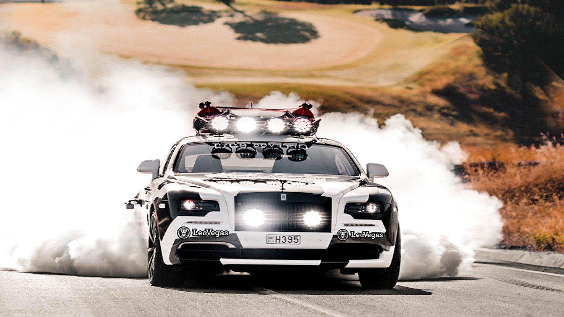 Неповторимое купе Роллс Ройс Wraith выставили на реализацию вНидерландах