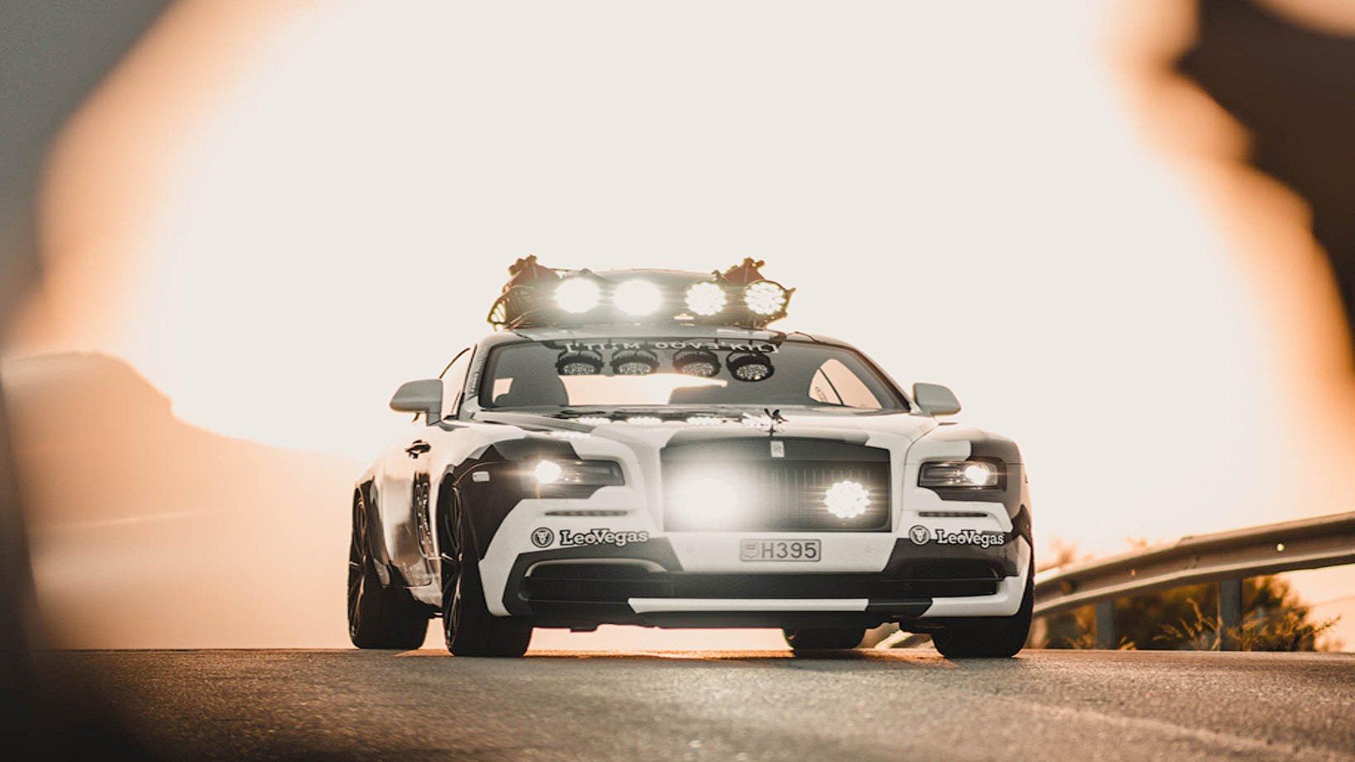 В Нидерландах продают уникальный Rolls-Royce Wraith