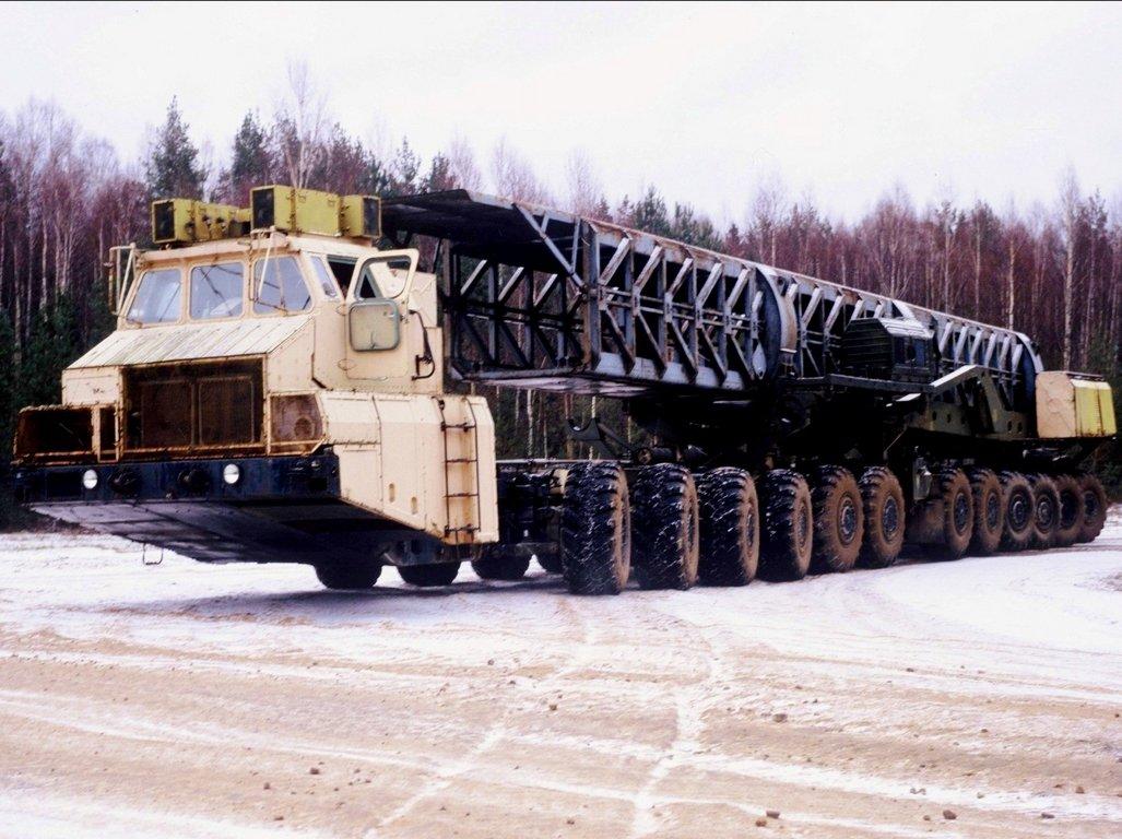Большегруз КМЗ-3 возглавил ТОП-5 малоизвестных грузовиков в России