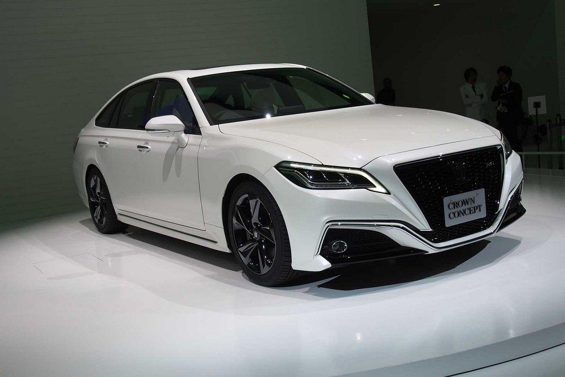 Тойота  представила серийную версию нового седана Тоёта  Crown