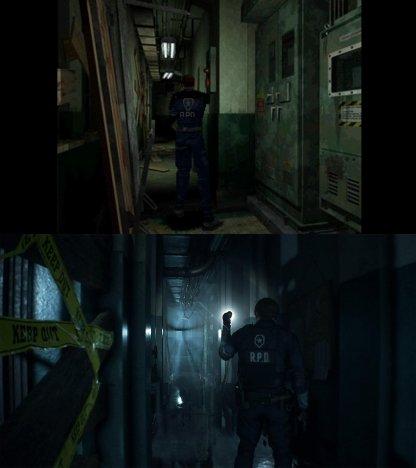 Capcom сравнила ремейк Resident Evil 2 с оригиналом