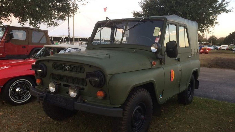 Старый 'УАЗ-469' продали на американском аукционе за миллион