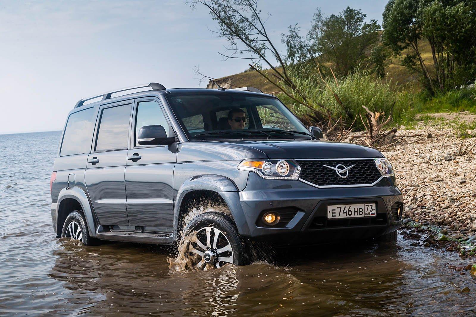 УАЗ «Патриот» получит новый бензиновый мотор