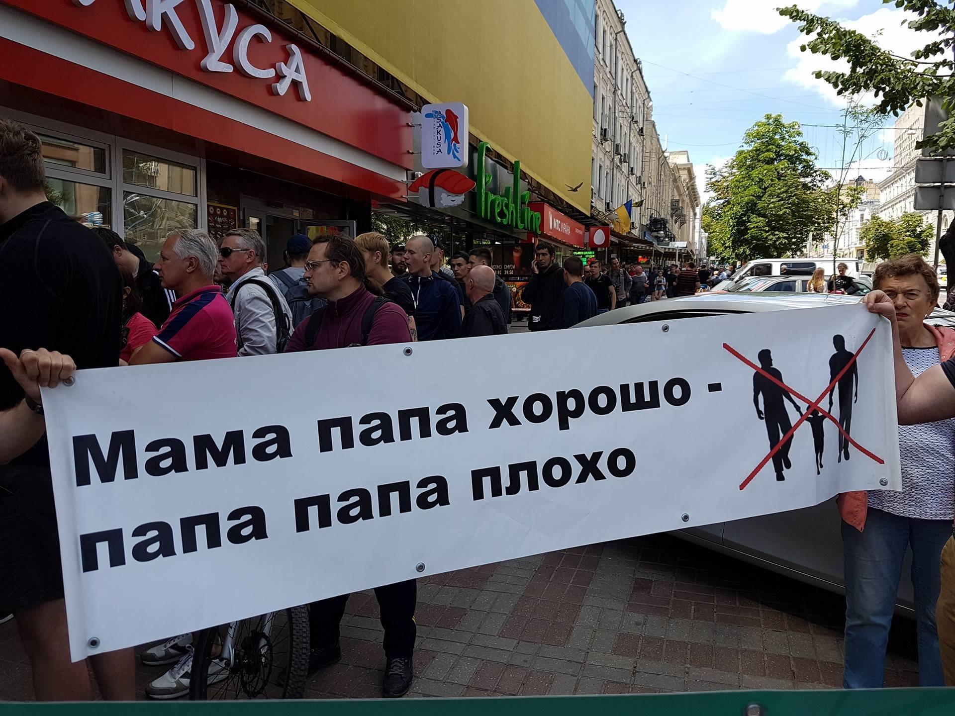 Митинг гомосексуалистов в киеве