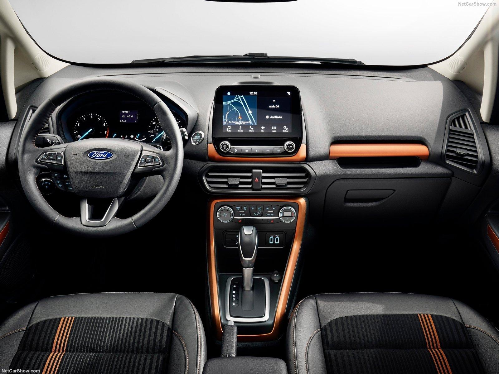 Форд начал русские продажи улучшенного EcoSport