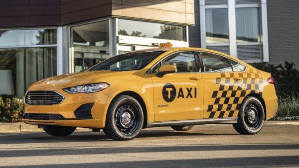 Ford представил такси нового поколения
