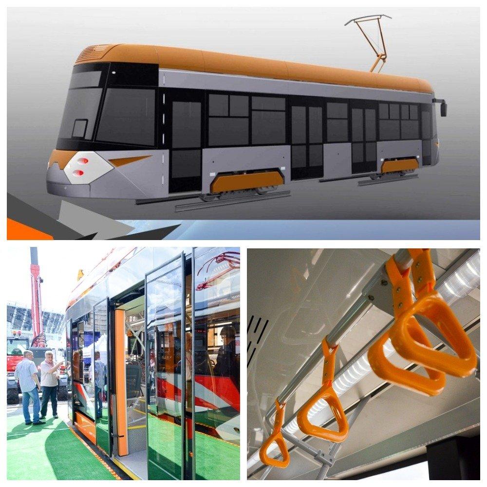 ВЕкатеринбурге «Ростех» представил модели трамваев обновленного поколения