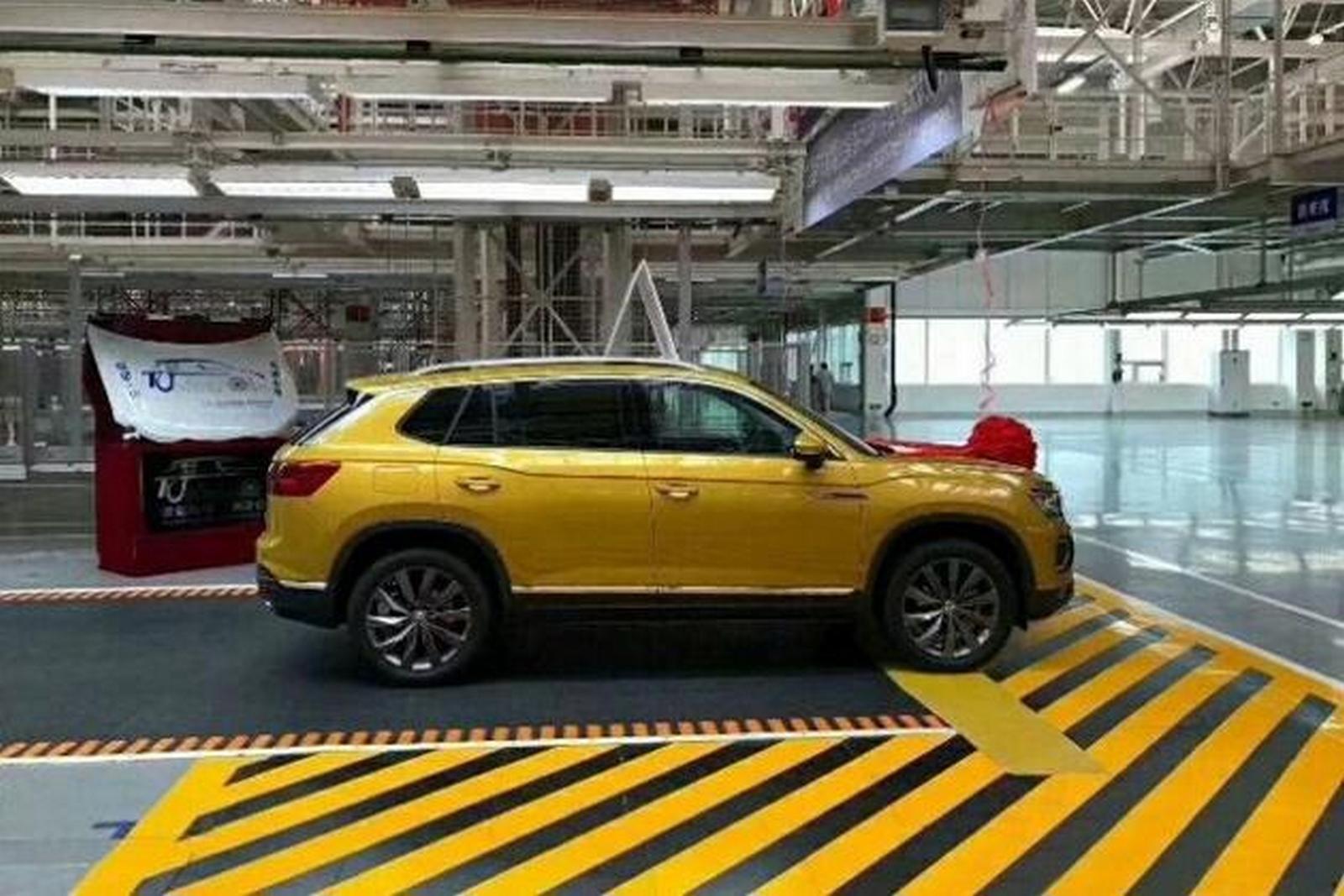 Фольксваген начал производство нового кроссовера Tayron