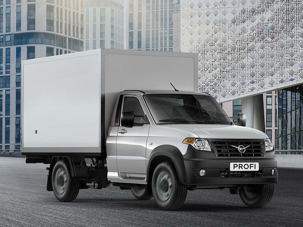 Ульяновский автомобильный завод выпустил промтоварный фургон набазе УАЗ «Профи»