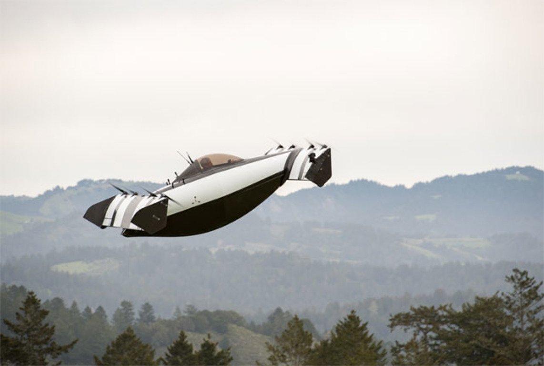 ВСША презентовали летающий электромобиль